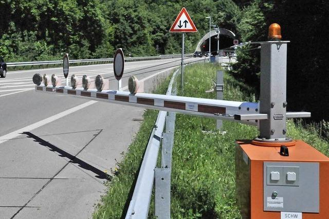 Sperrung im Hugenwaldtunnel ist aufgehoben
