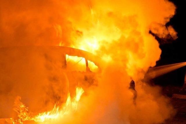 Im Hochschwarzwald gestohlenes Auto taucht völlig ausgebrannt in Straßburg auf