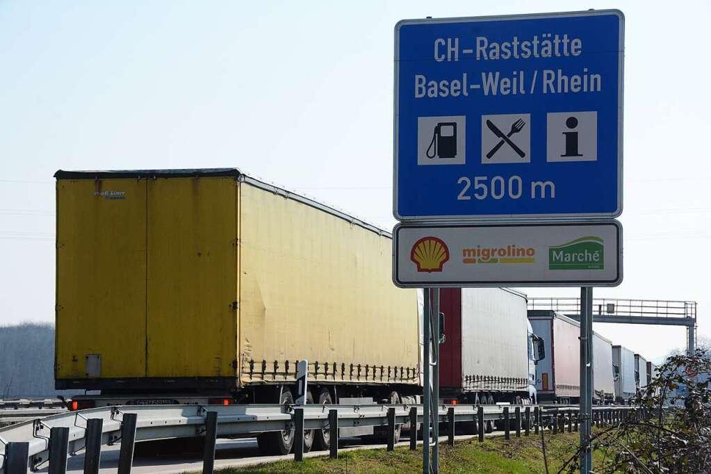 Stau A5 Freiburg