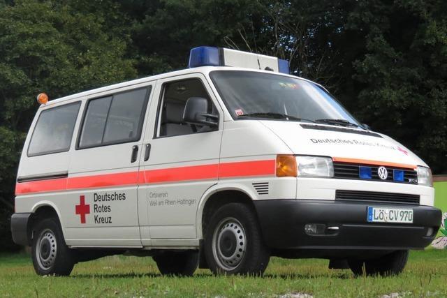 Unbekannter klaut DRK-Transporter in Weil-Friedlingen