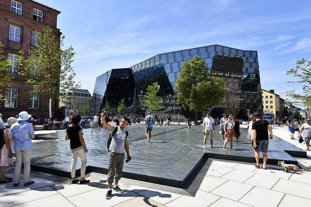 Freiburgs neue Mitte: Der Platz der Alten Synagoge ist freigegeben