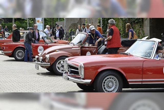 Retro Rallye und Ganter Hofbräu Hock