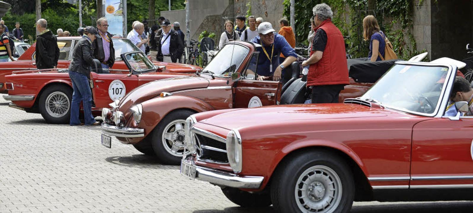 Retro Rallye und Ganter Hofbräu Hock Freiburg Badische