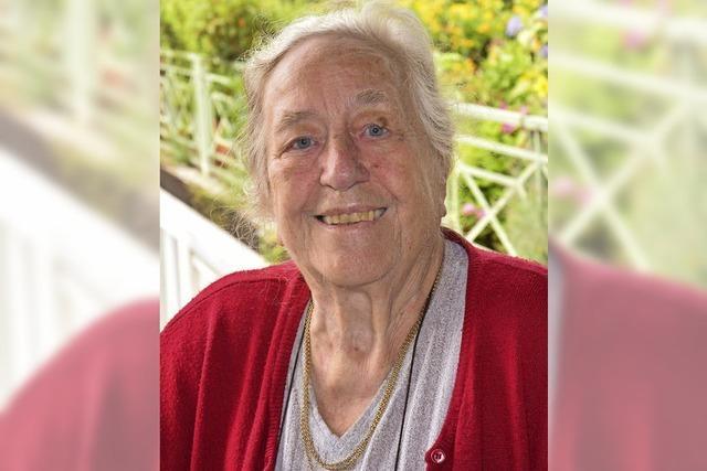 Anneliese Rehm wird 85 Jahre