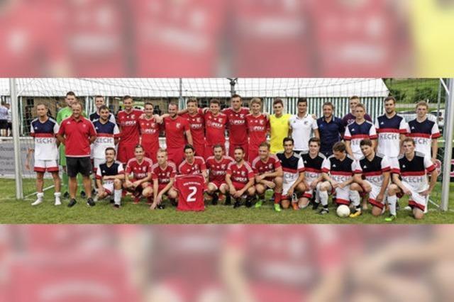 König Fußball regierte in Weizen