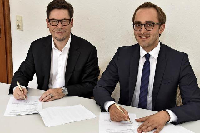 Neuer Liefervertrag für Erdgas unterzeichnet