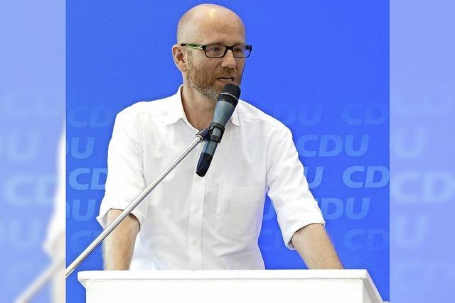 CDU-Generalsekretär schwört die Partei auf den Wahlkampf ein