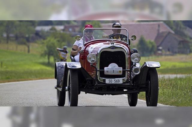 Am Freitag startet die Oldtimerausfahrt Schauinsland Klassik