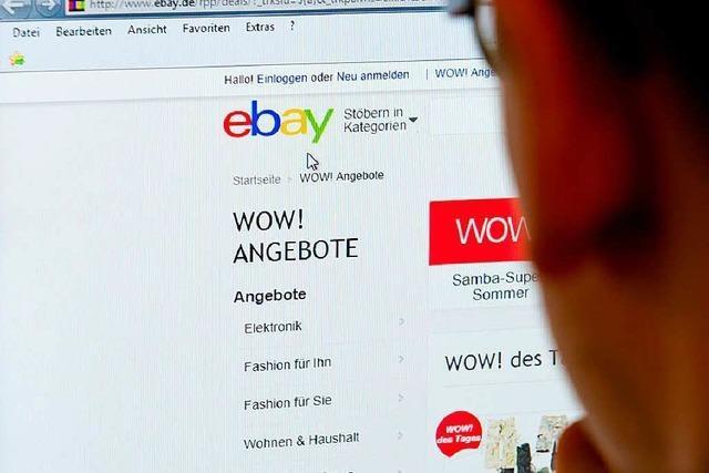 Eine Ebay-Auktion und ihr teures Nachspiel vor Gericht