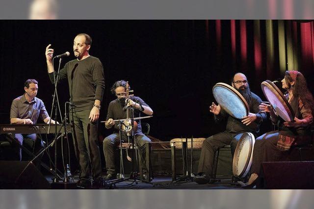 So war der Auftritt des Abron Ensemble beim Tamburi-Mundi-Festival im E-Werk