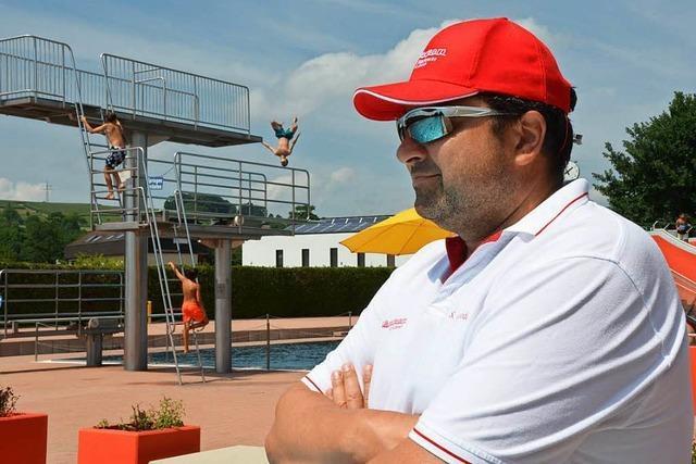 Saison im Lörracher Schwimmbad verläuft bisher reibungslos