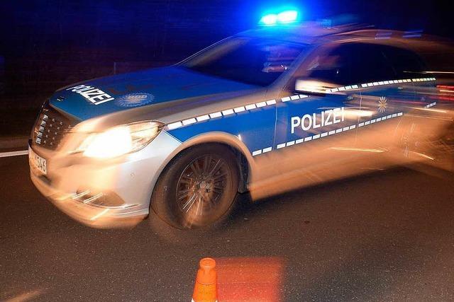 Betrunkener Autofahrer kollidiert mit Streifenwagen der Polizei