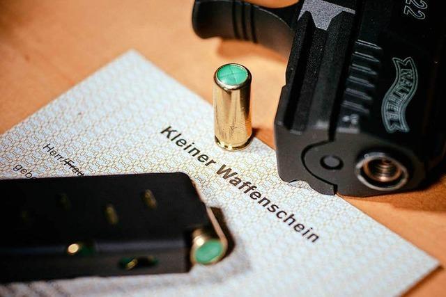 Immer mehr Kleine Waffenscheine in Grenzach-Wyhlen