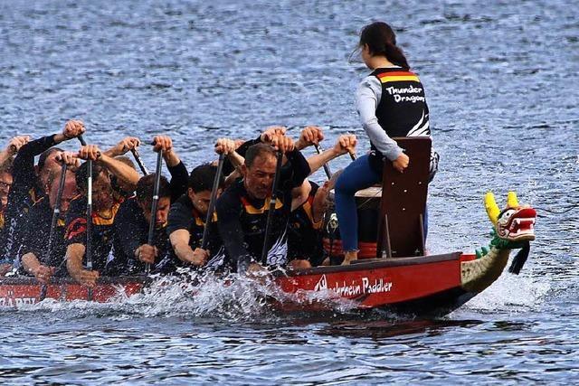 Drachenboot-Team aus Bad Säckingen holt das Triple