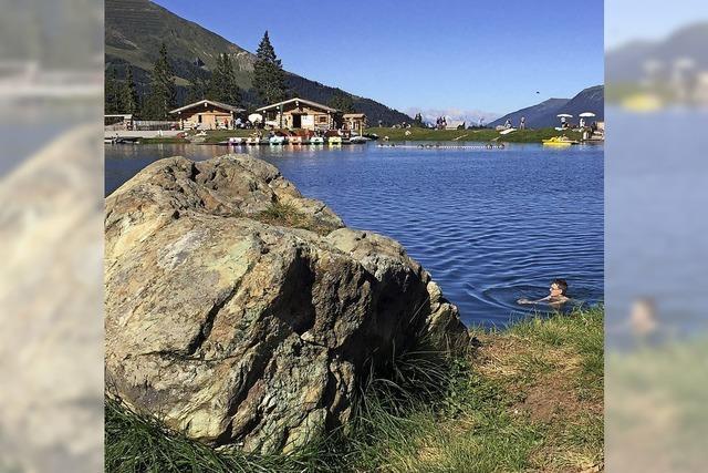 FLUCHTPUNKT: Nix wie raus und rein in den See