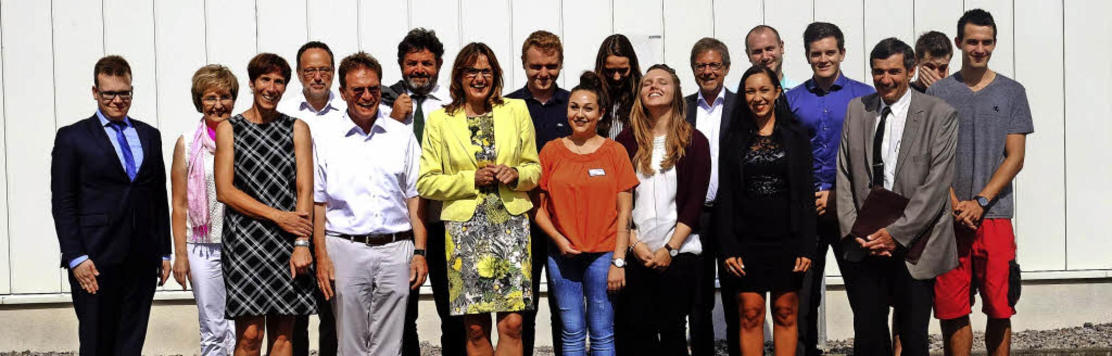 Staatssekretärin Lobt Unternehmen Kreis Waldshut Badische Zeitung
