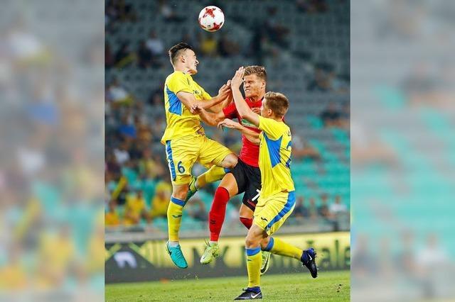 Europa ade - SC Freiburg verliert 0:2 und scheidet aus