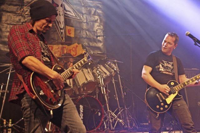 Die Wehrer Band Rockwell gibt am Samstag Konzert im Rahmen des Gleis-3-Jubiläumsfestes