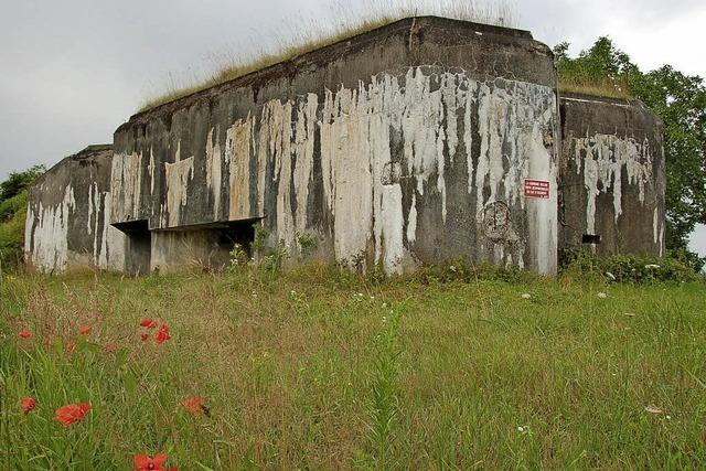 Die Maginot-Linie mit dem Rad