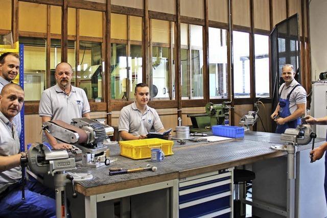 Neue Werkstatt für die Ausbildung