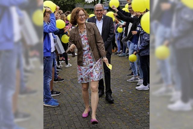 Irmhild Waibel an Realschule verabschiedet