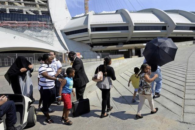 Haitianer fliehen aus den USA nach Kanada