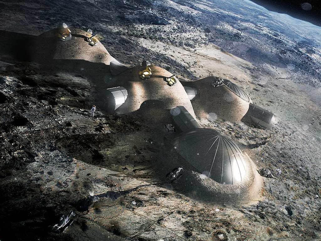 Leben Auf Dem Mond
