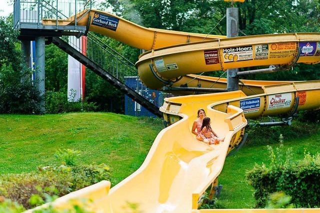 Schwäbische Stadt verkauft Schwimmbad-Rutsche auf Ebay
