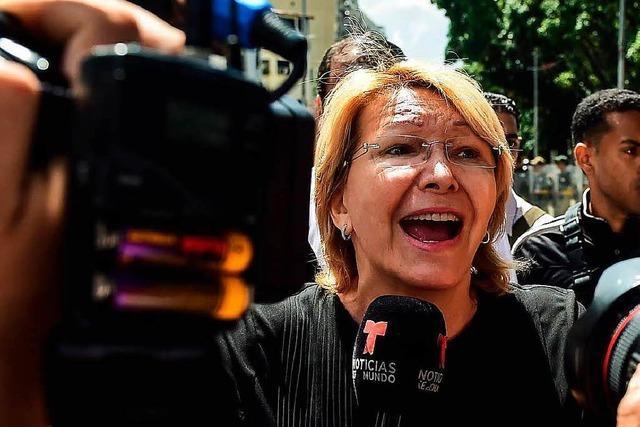 Venezuelas Generalstaatsanwältin abgesetzt