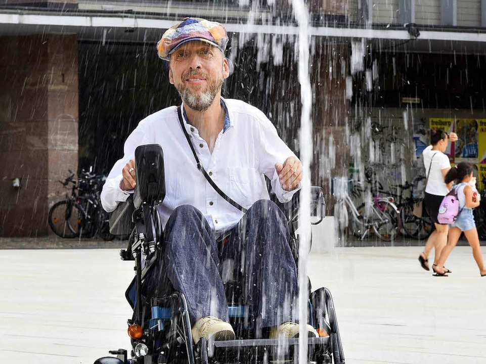 Kai Fischer  meint: nicht behindertengerecht  | Foto: Thomas Kunz