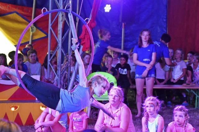Für eine Woche Zirkus-Superstars