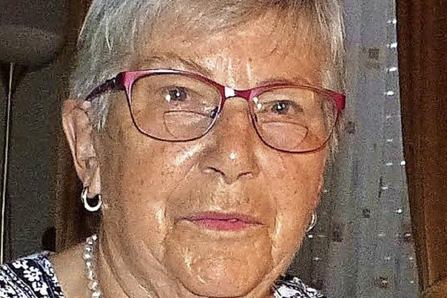 57 Jahre sang sie im Chor