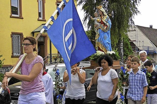 Für die heilige Maria
