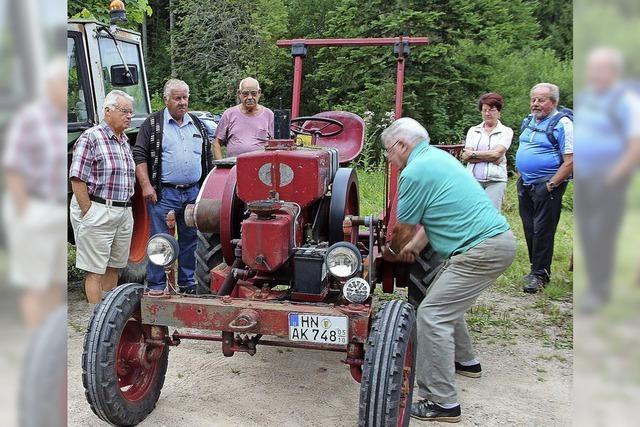 Alte Traktoren – heiß geliebt