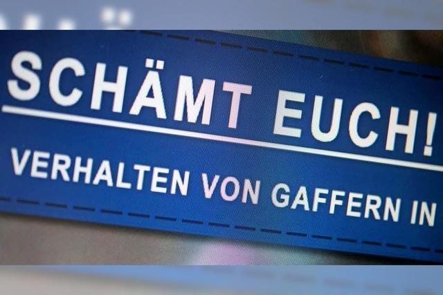 Das Polizeipräsidium Offenburg stellt Gaffer an den Pranger