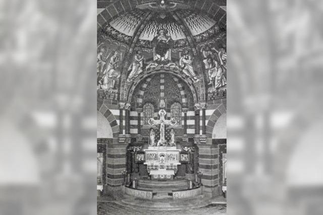 Der Altarraum der Michaelskirche hat sich über die Jahre gewandelt