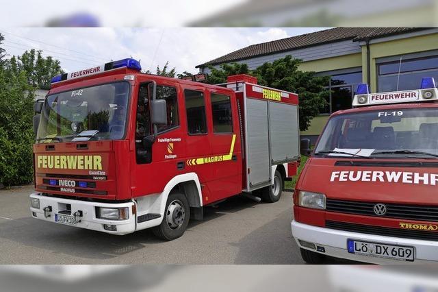 Sanierung bei der Feuerwehr