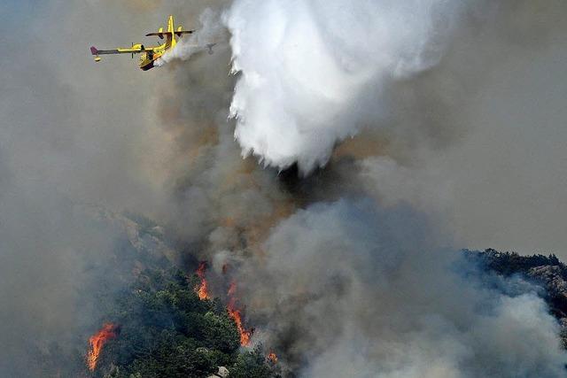 Südeuropa leidet unter Hitze, Trockenheit - und Feuer