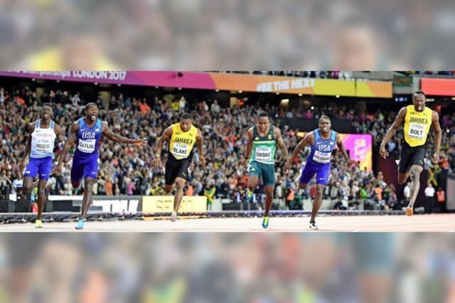 Usain Bolt verliert gegen Justin Gatlin über 100 Meter und wird gefeiert