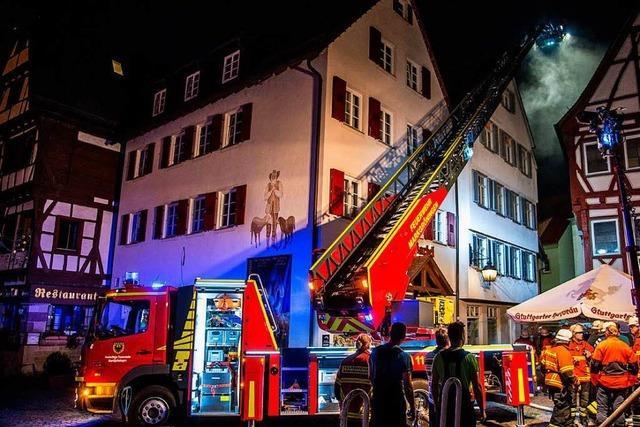 Zwei Tote und drei Schwerverletzte bei Brand in Sozialunterkunft