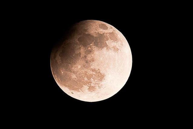 Partielle Mondfinsternis am Montag und Sternschnuppen am Wochenende