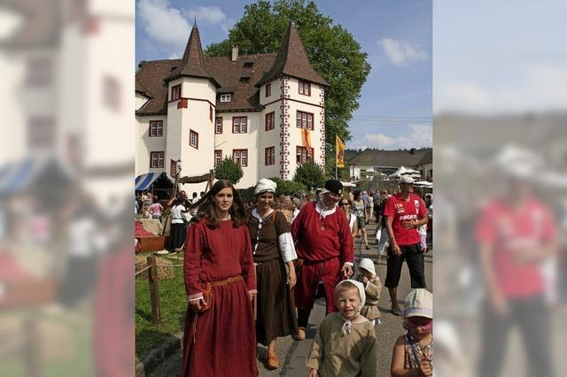 Mittelalterfest in Schmiehheim