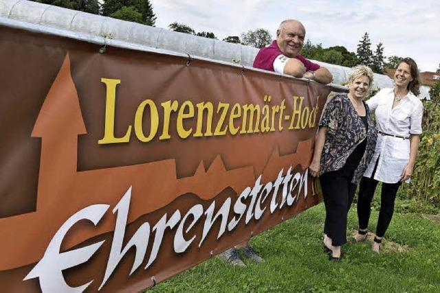 Lorenzemärt lockt nach Ehrenstetten