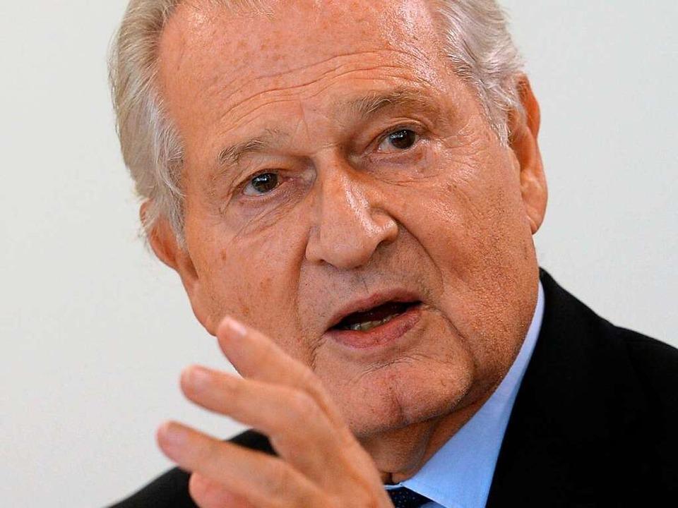 Jörg Rüdiger Siewert, der Ärztliche Direktor der Universitätsklinik Freiburg    | Foto: Patrick Seeger
