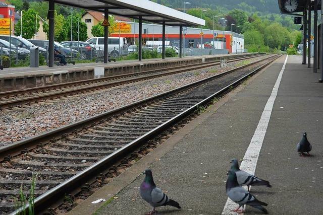 Ruhestörer am Bad Säckinger Bahnhof in Gewahrsam genommen