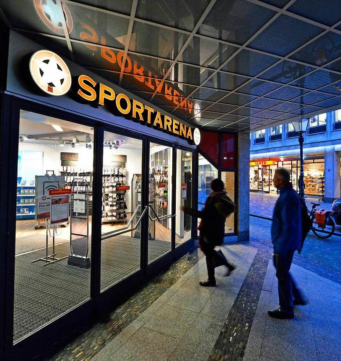 Sportarena in Freiburg schließt.  | Foto: Michael Bamberger