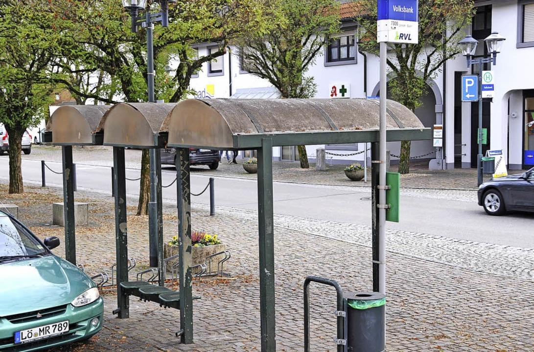 Maulburgs Buswartehäuschen werden saniert.   | Foto: Bergmann