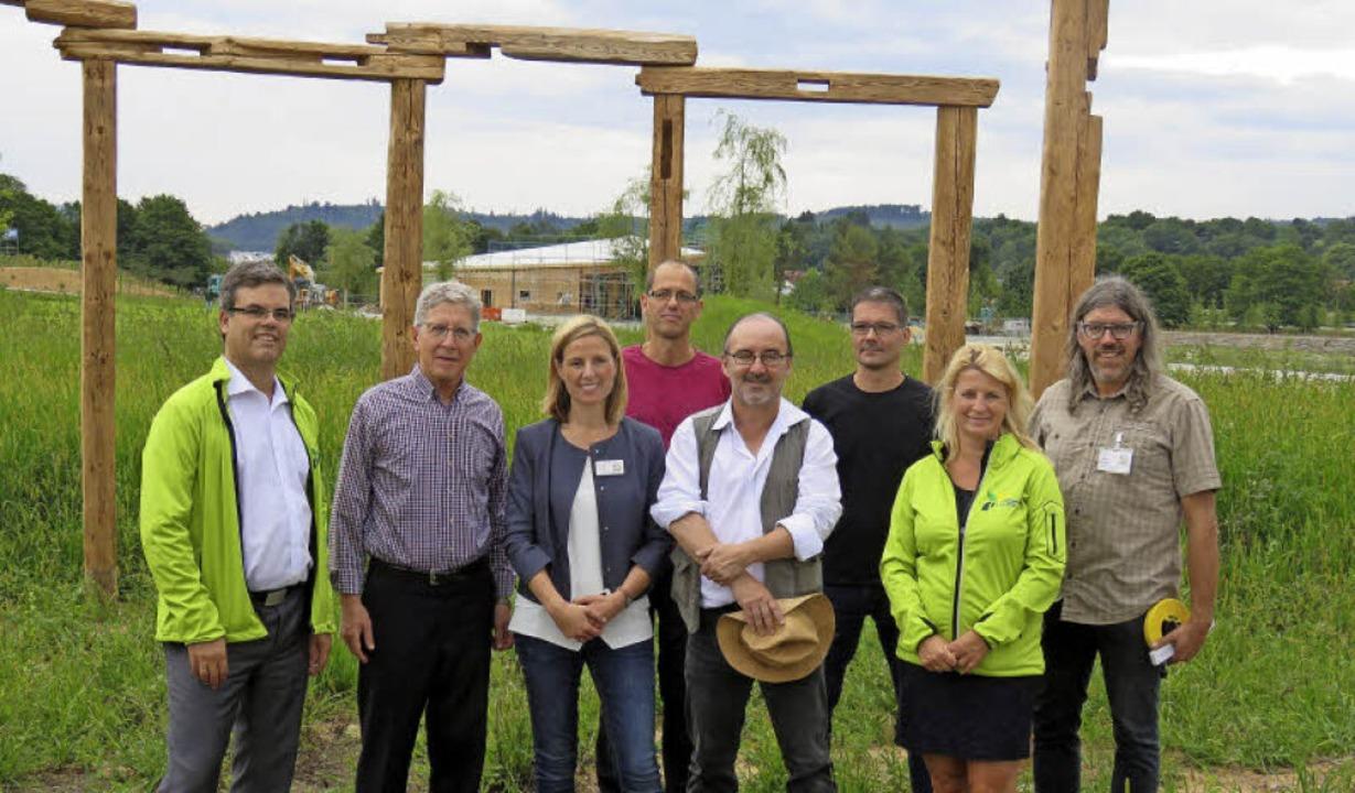 Landesgartenschau Vogtsbauernhöfe: Tob... Brodbeck,  Ulrike Karl, Horst Biegert  | Foto: Landesgartenschau