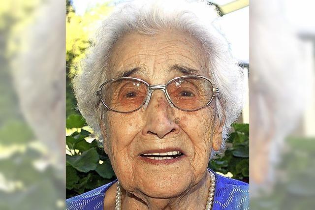 Die zwölf Enkel schätzen ihre Oma sehr