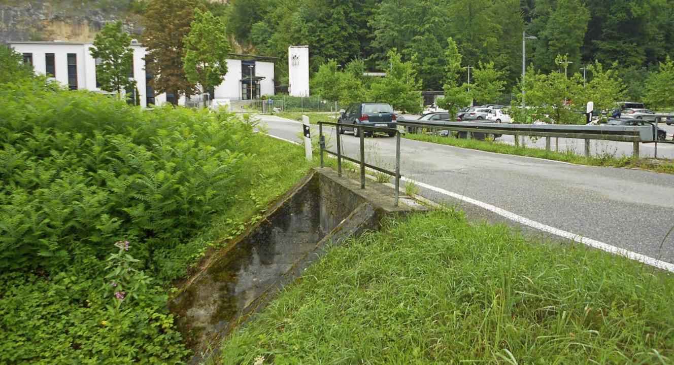 Die 117 Jahre alte Brücke am Ernst-Mac...sweiler wird durch eine neue ersetzt.   | Foto: Langelott